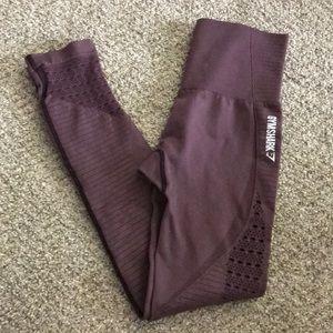 Gymshark purple seamless leggings S